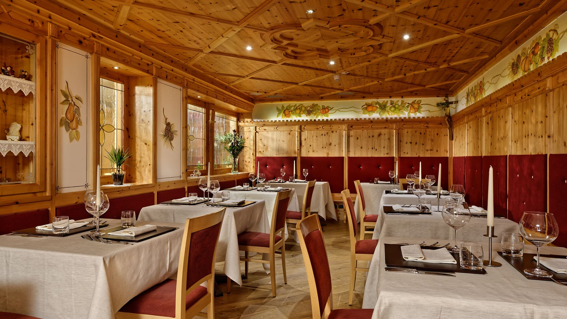 Stube diana ihr restaurant in madonna di campiglio for Gourmet hotels