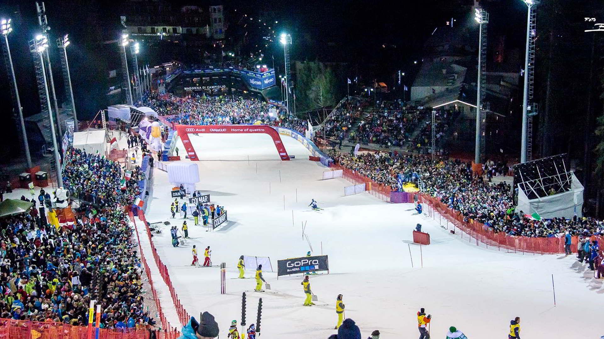 Fis Ski World Cup Madonna Di Campiglio